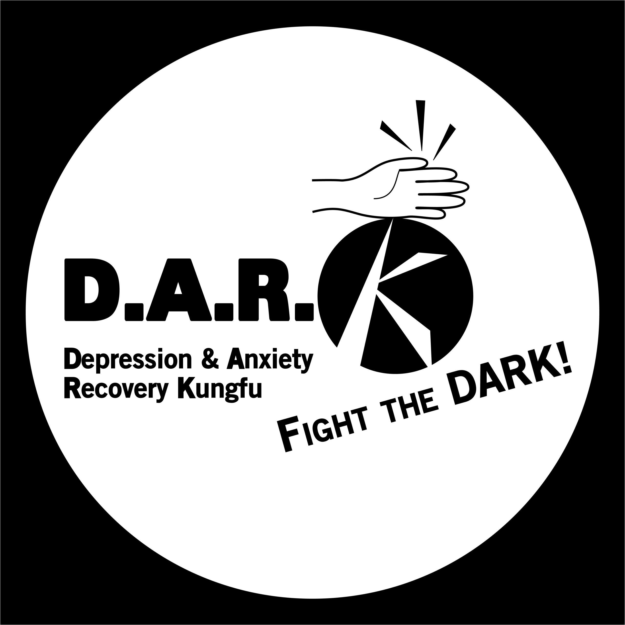 DepressionKungfu DARK logo